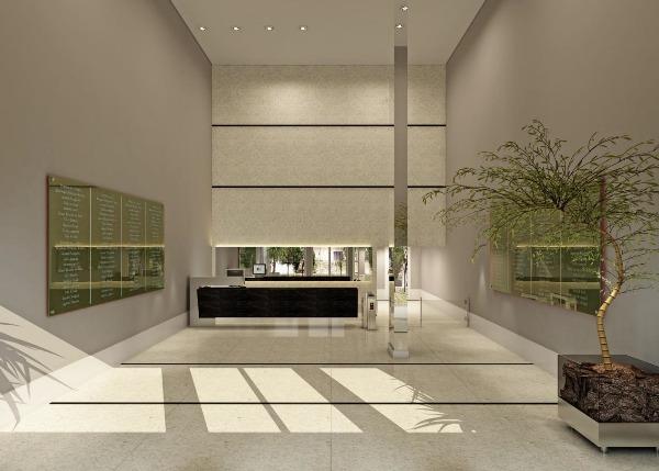 Excelente sala comercial no empreendimento HOM JOÃO WALLIG, 40.25 m de área real privativa, ANDAR ALTO, vaga de garagem COBERTA.